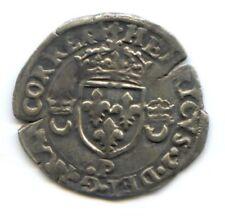 FRANCE HENRI II (1547-1559) DOUZAIN AUX CROISSANTS 1552 P DIJON