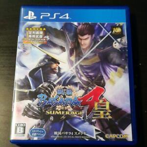 PS4 Sengoku BASARA 4 sumeragi CAPCOM PlayStation Japan import Game