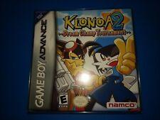 Klonoa 2 Dream Champ Tournament (Nintendo GameBoy Advance) New + BONUS PROTECTOR