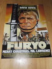 FURYO - MERRY CHRISTMAS, MR. LAWRENCE - Kinoplakat A1 ´83 - DAVID BOWIE