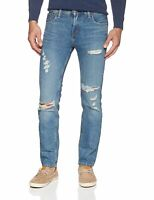 Levis 511 Slim Fit Jeans Destroyed Distressed Slim Fit Stretch Jeans 2742
