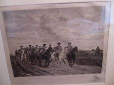 Ernest Meissonier 'Maurice, Comte de Saxe' Leading His Troopers Large Print