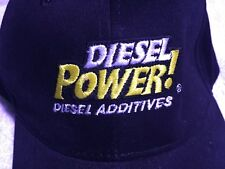 Diesel Power! Additives Adult Baseball Ball Cap Hat Trucker Automotive Strapback