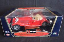 Bburago Mercedes-Benz 500 K Roadster 1936 1:20 red (JvM)