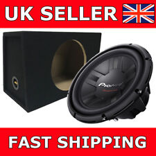 "Pioneer 12"" Sub+Box Deal 30cm1400W Subwoofer Single 4 Ohm VC TS-W311S4 Car Sub"