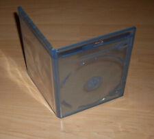 50 Blu Ray Hüllen 2fach Doppelhülle zweifach 11mm 1,1cm blau Blu-Rays Blue Neu