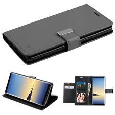 Black/Black PU Leather MyJacket Wallet with extra card slot