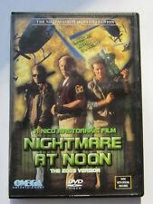 "NIGHTMARE AT NOON(1988)LBX ""NICO MASTORAKIS"" OMEGA/IMAGE ENTERTAINMENT RELEASE"