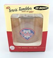 Tervis Ice Bucket with Tongs PHILLIES Tervis Tumbler 2.5Qt New Open Box
