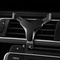 Universal Car Phone Holder Air Vent Gravity Design Mount Cradle Stand Bracket