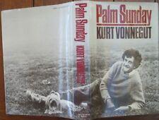 Palm Sunday by Kurt Vonnegut Autobiographical Collage 1981 1st U.S. Impression