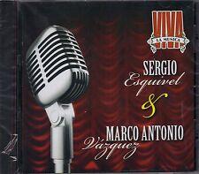 Sergio Esquivel y Marco Antonio Muniz  Viva La Musica CD New Nuevo Sealed