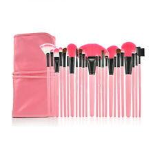Pro 24 Pcs Makeup Brushes Cosmetic Tool Kit Eyeshadow Powder Brush Set Case