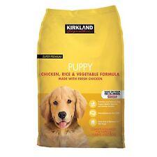 Kirkland Signature Super Premium Chicken Rice & Vegetable Puppy Food 20 Pounds