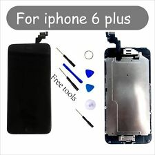 Camera+Homebutton A+ Digitizer Replacement Black Screen For iPhone 6plus with UK