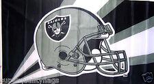 New listing Oakland Raiders Flag New 3x5 ft Helmet Banner nfl au