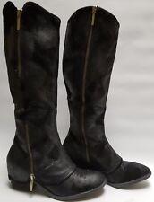 """Donald J. Pliner """"devi 3"""" Black Boots Size 6 1/2"""