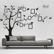 99''x79'' Large Family Tree Wall Sticker Vinyl Art Photo Frame Decal Home Decor