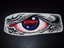 """SANTA CRUZ Skate 5.5"""" Sticker Rob Eye Logo skateboard helmets decal"""
