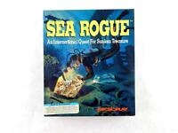 Vintage SEA ROGUE Big Box PC Computer Game by Microplay 5.25 Disk
