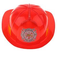 Mens Fireman Helmet Siren /& Light /& Sound Stag Do Fancy Dress Accessory Hat