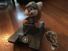 Conker Live And Reloaded Promo cardboard tank display Plush bad fur day Xbox