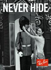 2008 Ray Ban Liu Wen Sunglasses London 1-page MAGAZINE AD