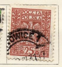 Poland 1929 Early Issue Fine Used 25gr. 133452