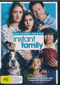 Instant Family DVD NEW Region 4 Mark Wahlberg