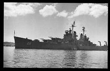 USS Baltimore CA-68 postcard US Navy Heavy Cruiser