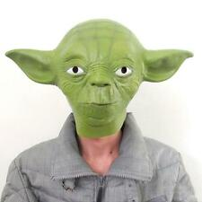 Star Wars Movie Yoda Jedi Master Latex Head Mask Cosplay Halloween Props Aliens