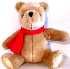 "GUND DISNEY CLASSIC POOH Winnie the Pooh with Red Scarf Plush Stuffed Animal 7"""