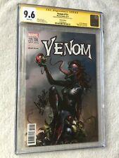 Venom #151 August 2017 Marvel CGC 9.6 white pages gold label signature Mattina