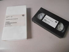 BMW VHS Video Cassette Tape Working With Trade-Ins Video Communication System #A