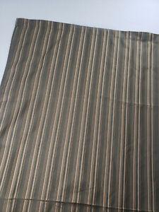 Croscill Home Shower Curtain Luxury Green Gold Stripe