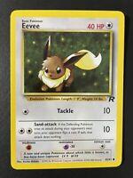 EEVEE - Team Rocket Set - 55/82 - Pokemon Card - Unlimited Near Mint NM