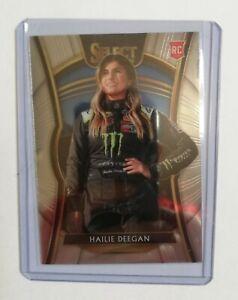 Hailie Deegan 2020 Panini Chronicles Racing Select Base Card No.1 Nascar