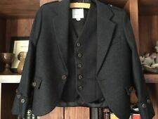 "Boys Highland Wear Jacket With Waistcoat 26-28"" Chest"