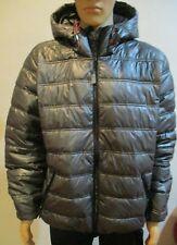 Men's Members Only Sport Lightweight Thin Gray Puffer Jacket size XXL