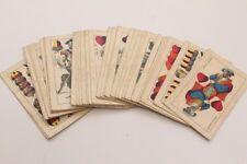 Alte Spielkarten Kartenspiel Skatkarten Trumpf Piatnik Nándor és Fiai 32 Karten