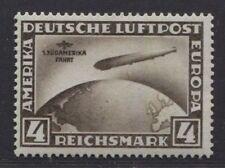 1930 Germany 4 Mark Zeppelin issue  SOUTH AMERICA FLIGHT  mint*, $ 468.00