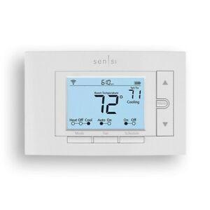 Brand New - Emerson Sensi ST55U Smart Home Thermostat (white), Energy Star