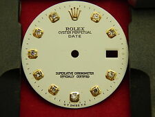 ROLEX OYSTER PERPETUAL DATE DIAL DIAMOND FOR QUICK SET 3035 3135 MOVEMENT
