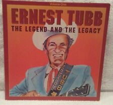 Ernest Tubb LP THE LEGEND AND THE LEGACY 3rd pressing Willie Nelson George Jones