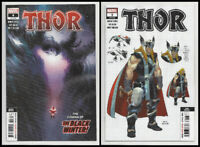 THOR 3 & 4 (2nd 3rd PRINT) 1st BLACK WINTER COVER Donny Cates Marvel 2020 NM- NM