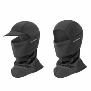 ROCKBROS Winter Sports Thermal Face Mask Headgear Sports Cap Black Headband Hat