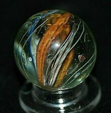 """Old German RIBBON Core Handmade Marble 1.05"""" INCHES"""
