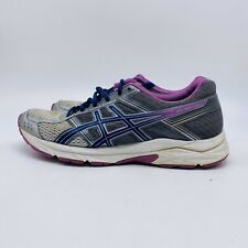 Asics Gel Contend 4 Womens Running Shoes Gray/Blue/Purple ,size 9