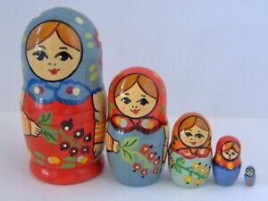 Matryoshka Russian Dolls (Set of Five)