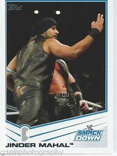 Jinder Mahal 2013 WWE Topps Triple Threat Trading Card #62 Smackdown 3MB